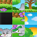 Sliding Puzzle Cartoon&Animals icon