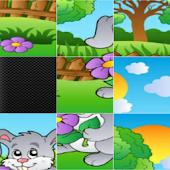 Sliding Puzzle Cartoon&Animals
