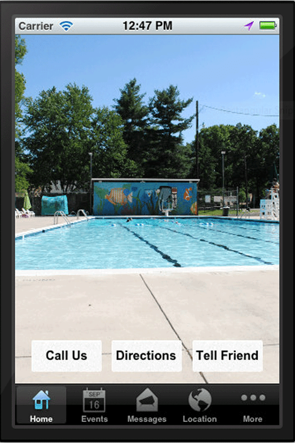 College Heights Pool- screenshot