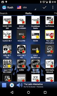 RUSH online radio and TV Screenshot 3