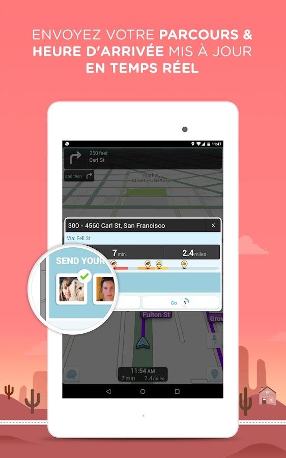 Waze Social GPS Maps & Traffic– Capture d'écran