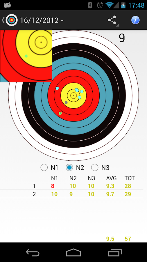 Archery Stats - Free- screenshot