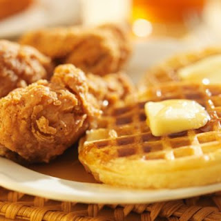 Classic Chicken and Waffles.