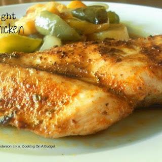 Weeknight Cajun Chicken