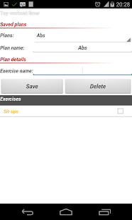 Top Workout Timer Lite - screenshot thumbnail
