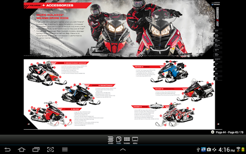 Polaris Snow Catalogs US - screenshot thumbnail