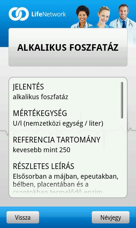 Laborlelet Kisokos- screenshot