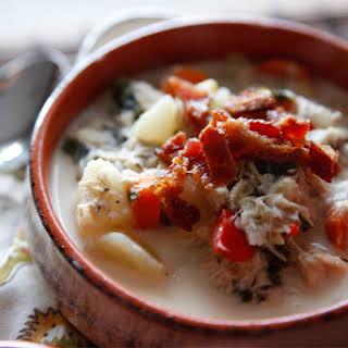 Turkey & Potato Corn Chowder.