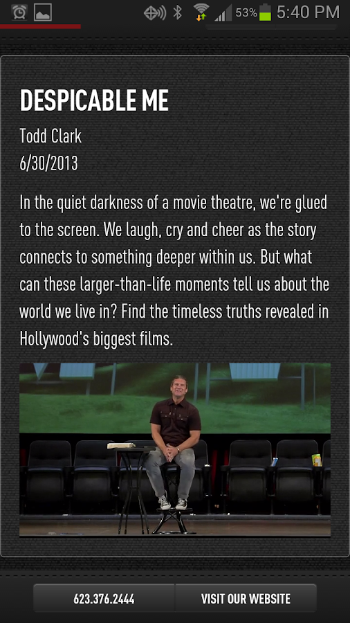 CCV Mobile App - screenshot