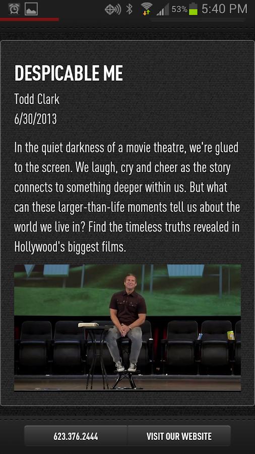 CCV Mobile App - screenshot