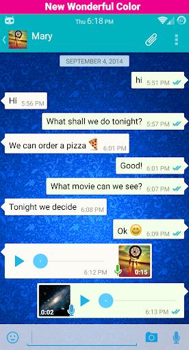 Whatsapp Flat Theme CM11