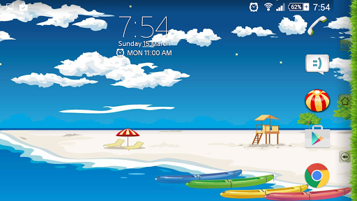 Theme eXPERIAnz - SUMMER для планшетов на Android