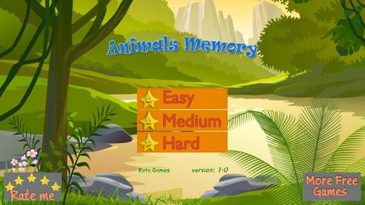Animal Memo Best Brain Trainer