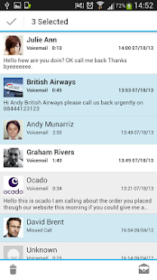 HulloMail Free Smart Voicemail - screenshot thumbnail