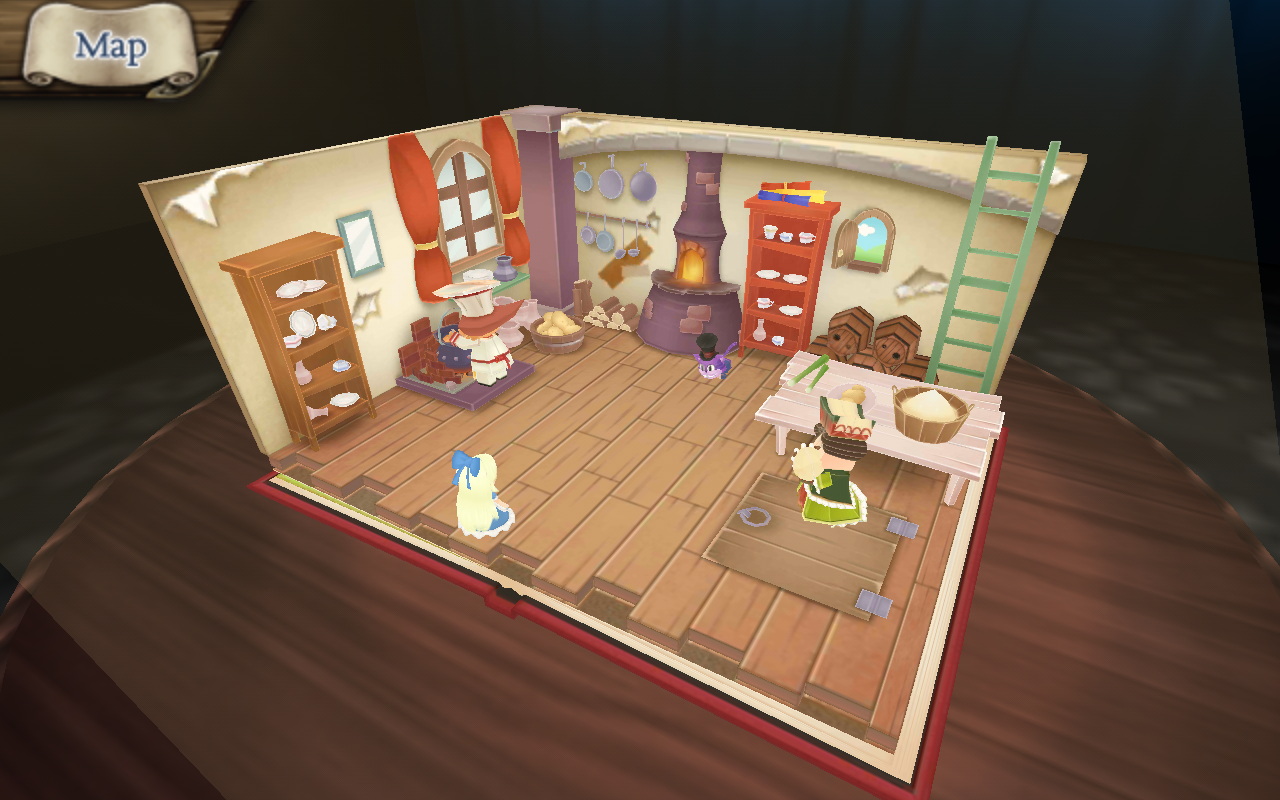 Alice in Wonderland 3D- screenshot