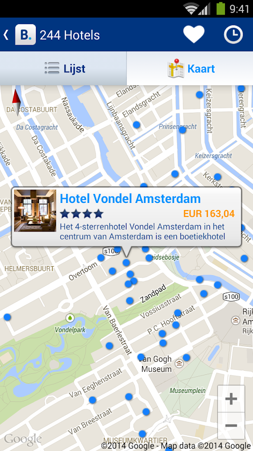 Booking.com - 750.000+ hotels: screenshot