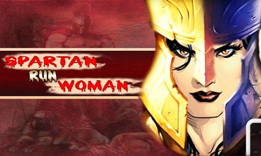 Spartan Run Woman