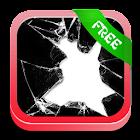 Vetro rotto divertente app icon