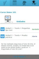 Screenshot of todos tus cursos