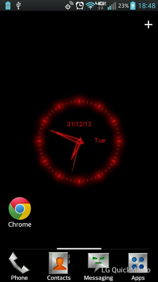 Red Clock Live Wallpaper Android Apps On Google Play