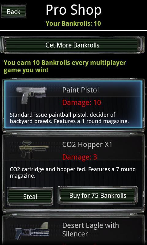Paintball - screenshot