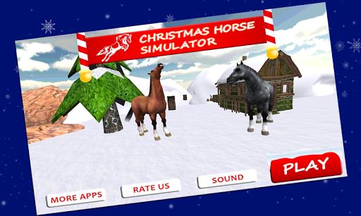 Winter Snow Horse Simulator 3D