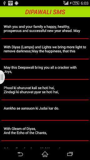 Diwali SMS Messages 5000+
