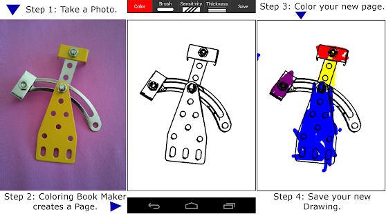 Coloring Book Maker Screenshot Thumbnail