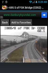 Maryland/Baltimore Traffic Cam screenshot 12