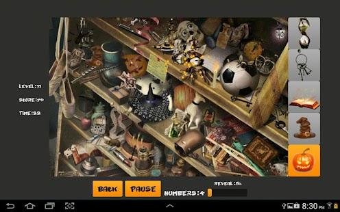 Halloween Find objects 解謎 App-愛順發玩APP