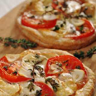 Puff Pastry Pizzette.