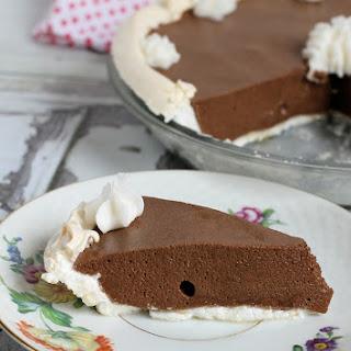 Chocolate Angel Pie Recipe (gluten-free, dairy-free)
