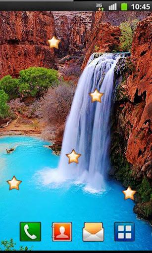 Autumn Waterfall livewallpaper