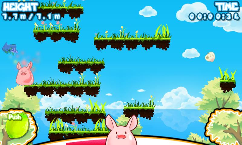 Dash up! : Jumping pig - screenshot