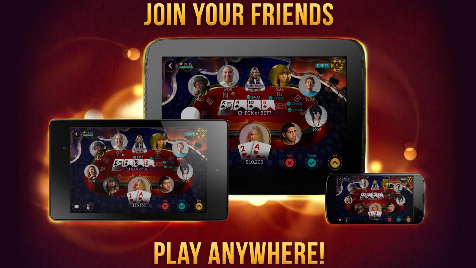 Zynga Poker – Texas Holdem - screenshot