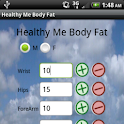 Healthy Me Body Fat calculator logo