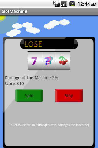 Sky Slot Machine - screenshot