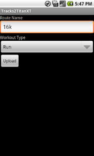 Tracks2TitanXT- screenshot thumbnail