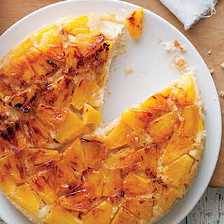 Coconut and Fresh Pineapple Upside-Down Cake.