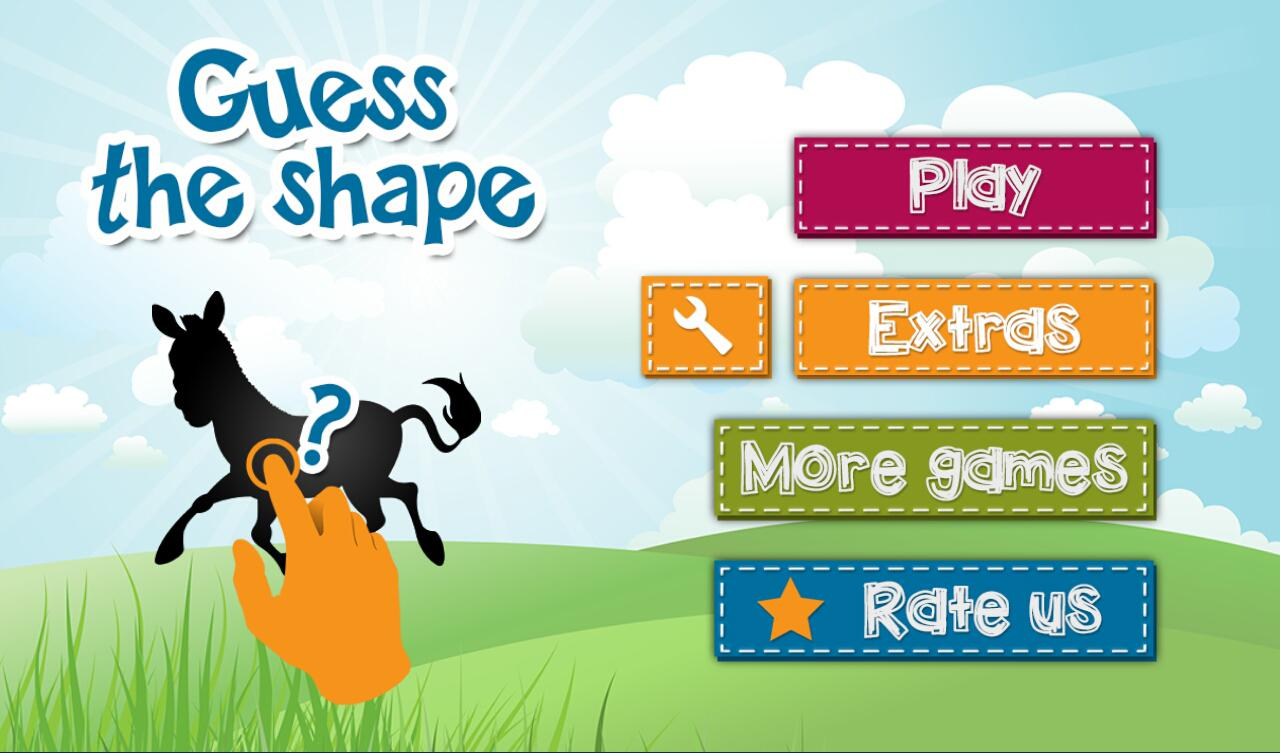 4 Kids: Guess the shape quiz- screenshot