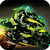 3D Speed Racing Moto