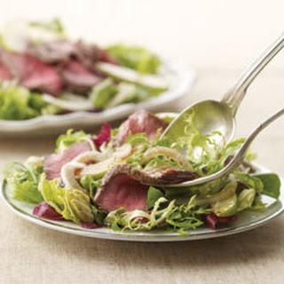 Beef Steak & Fennel Salad.