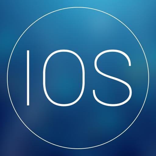 霓虹蓝GO桌面主题 個人化 App LOGO-APP試玩