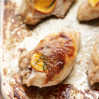 Tangelo-Stuffed Chicken Breasts