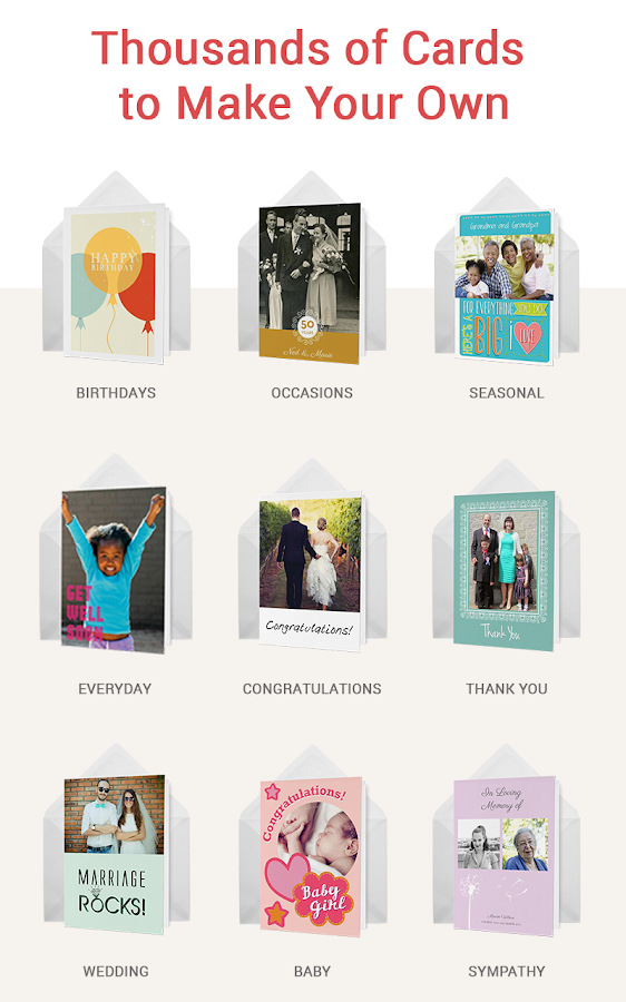 CleverCards Birthday Cards - screenshot
