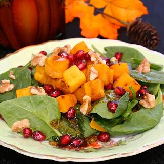 Harvest Salad with Pomegranate Vinaigrette
