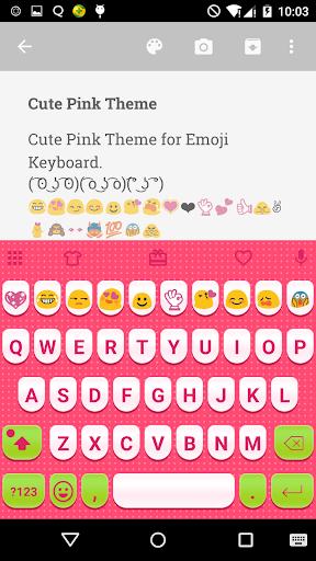 CutePink Keyboard forMessenger