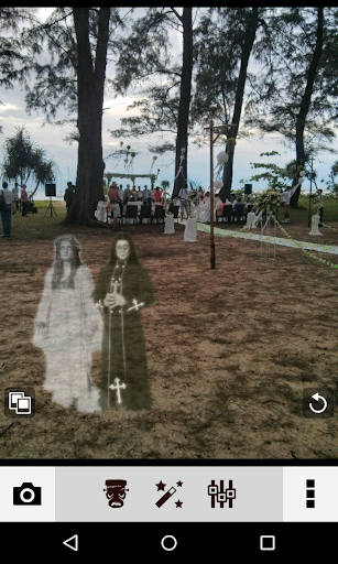 Ghost In Photo