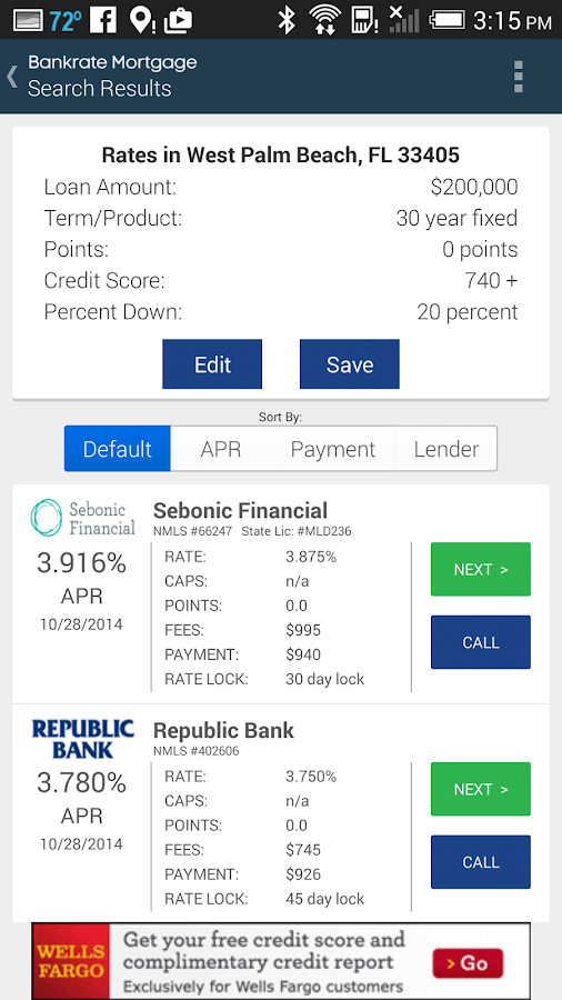 Mortgage Calculator & Rates- screenshot