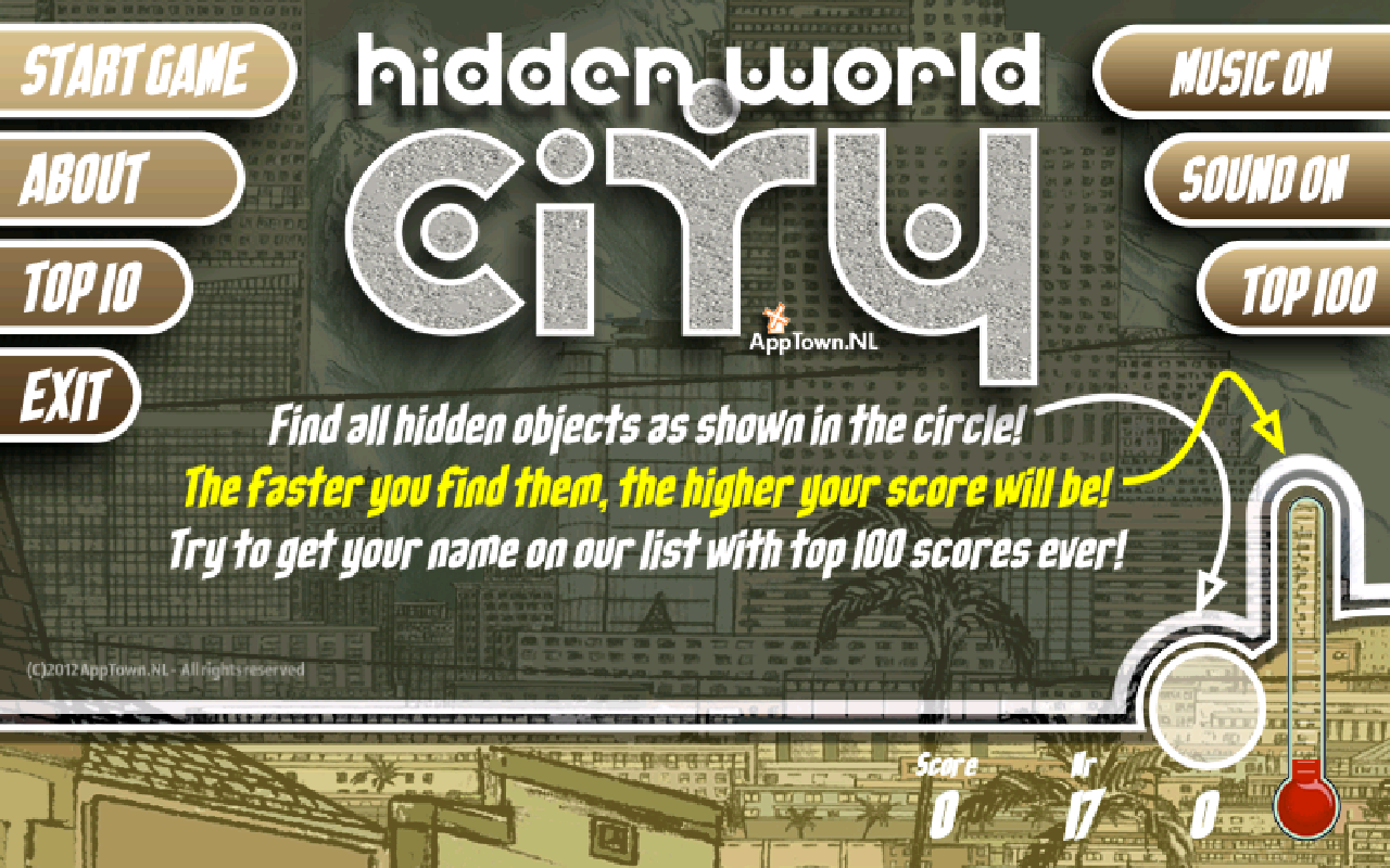 Hidden World City- screenshot